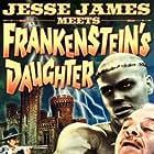 Cal Bolder and John Lupton in Jesse James Meets Frankenstein's Daughter (1966)