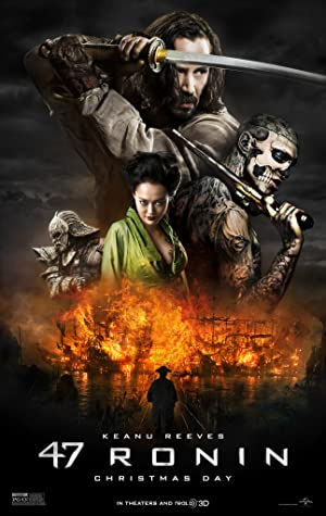 47 Ronin 2013 Movie Poster