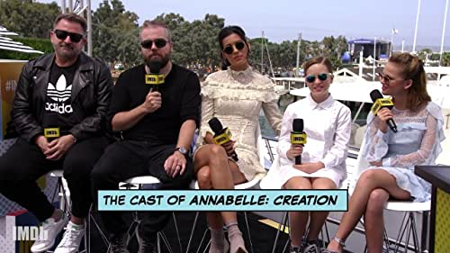 'Annabelle: Creation' Cast Presents an Exclusive Clip