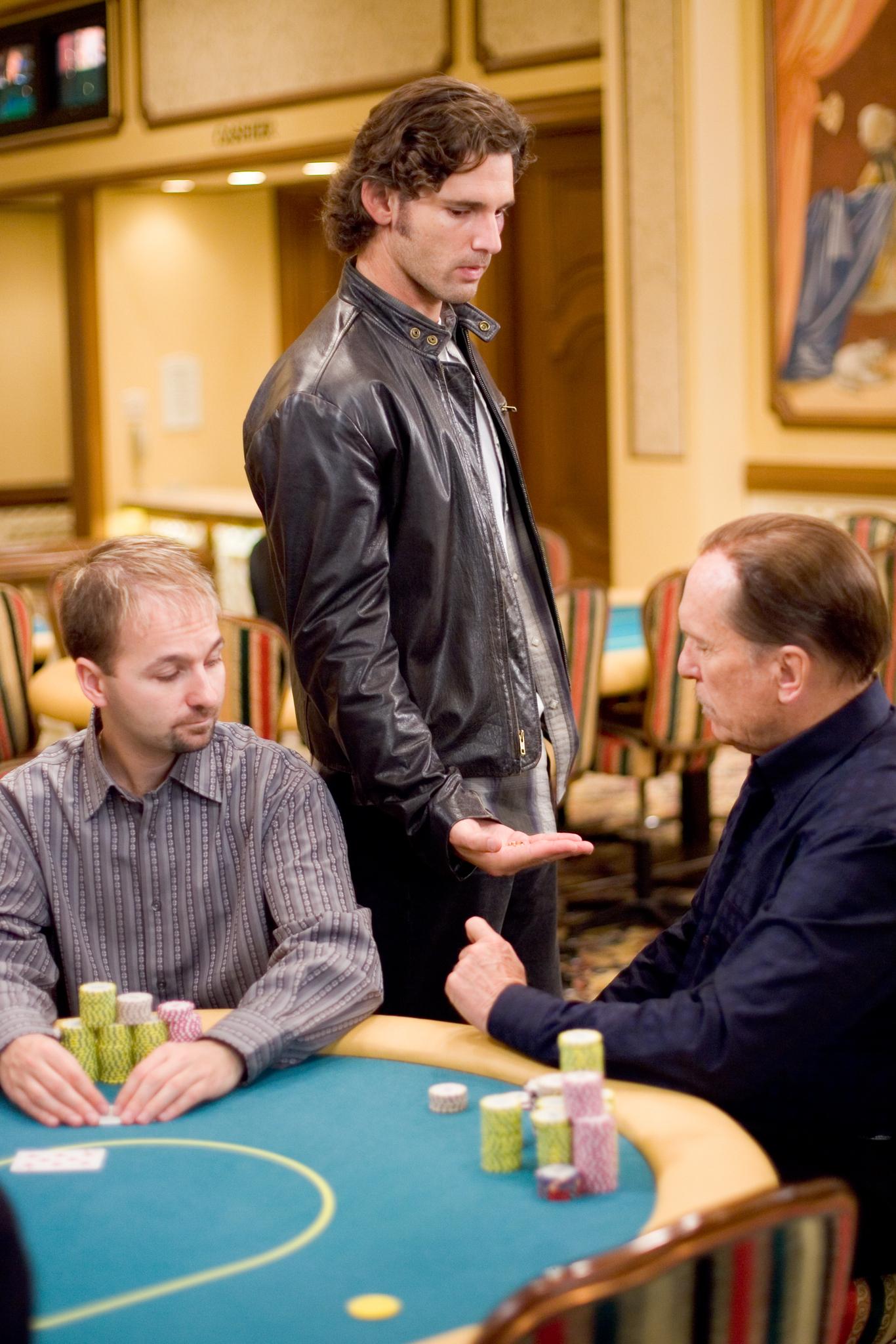 Robert Duvall, Eric Bana, and Daniel Negreanu in Lucky You (2007)