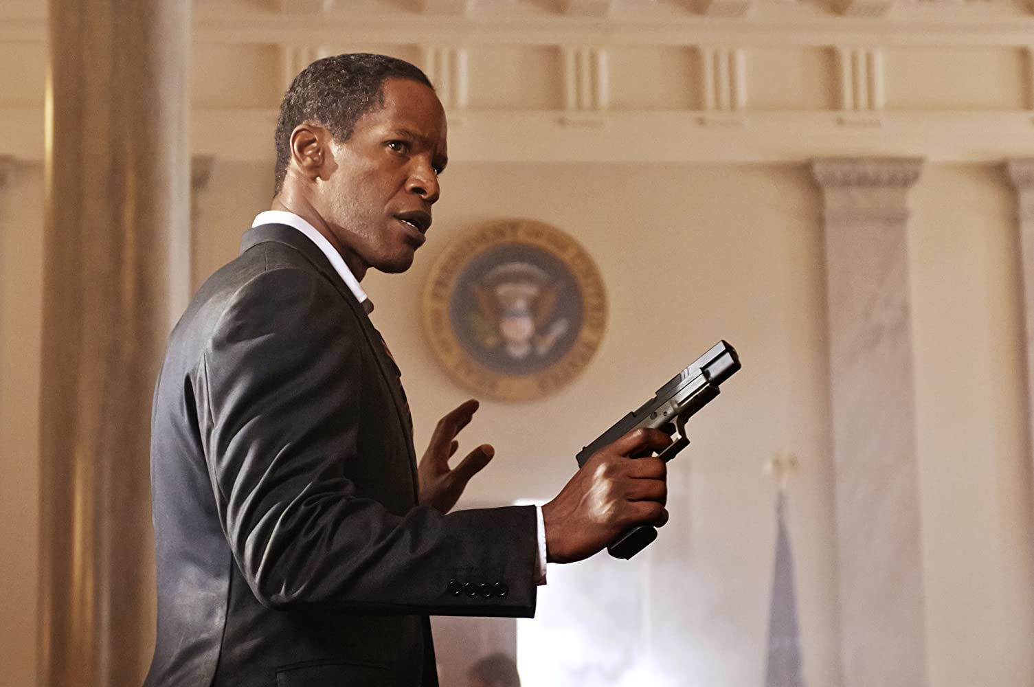 Jamie Foxx in White House Down (2013)