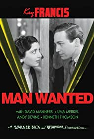 Kay Francis and David Manners in Man Wanted (1932)