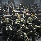 Grace Park, Katee Sackhoff, and Carole Segal in Battlestar Galactica (2004)
