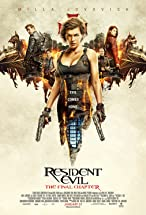 Primary image for Resident Evil: The Final Chapter