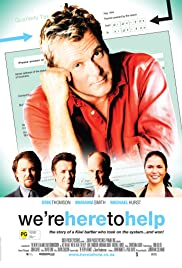 We're Here to Help Poster