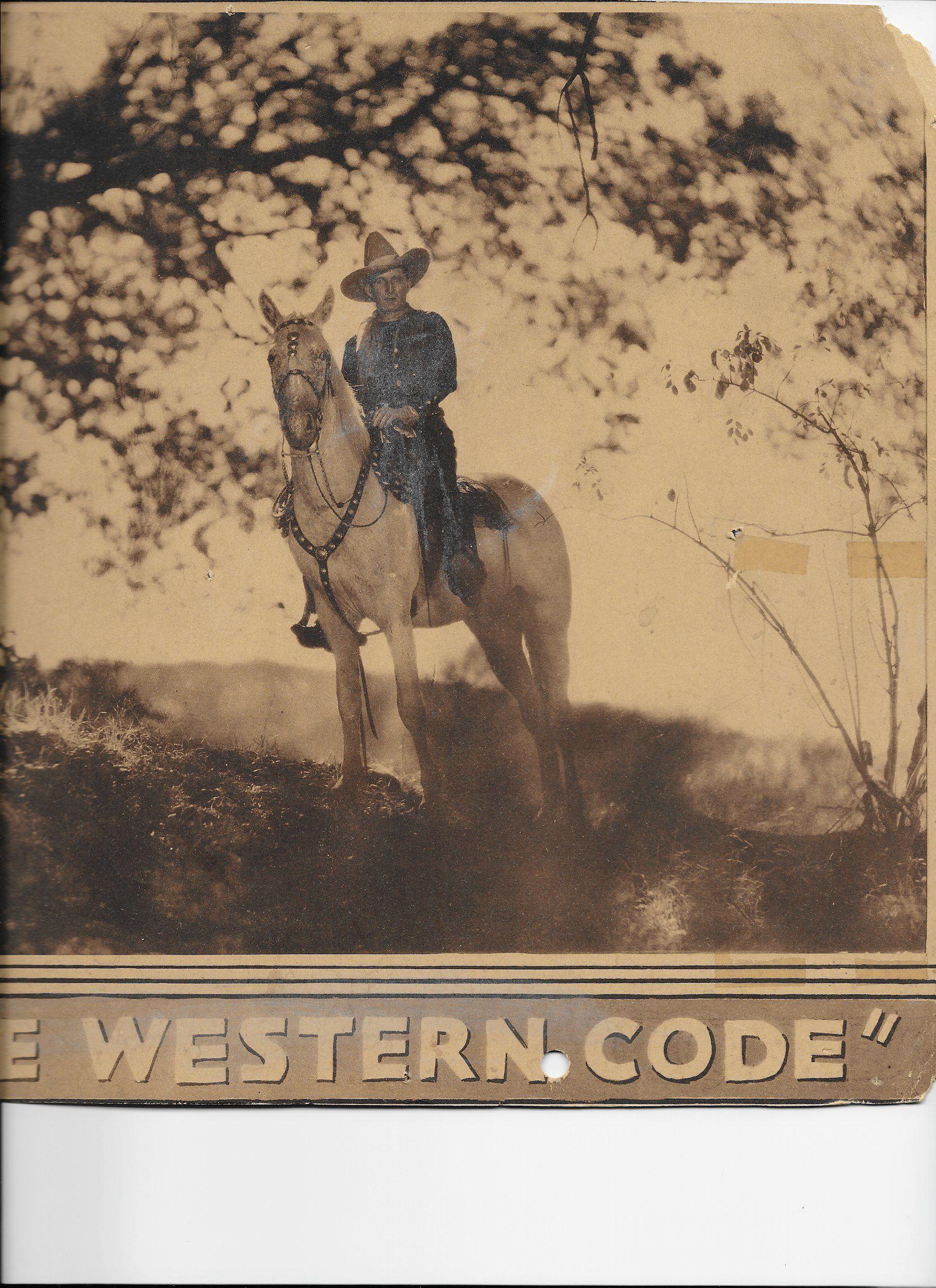 Tim McCoy in The Western Code (1932)
