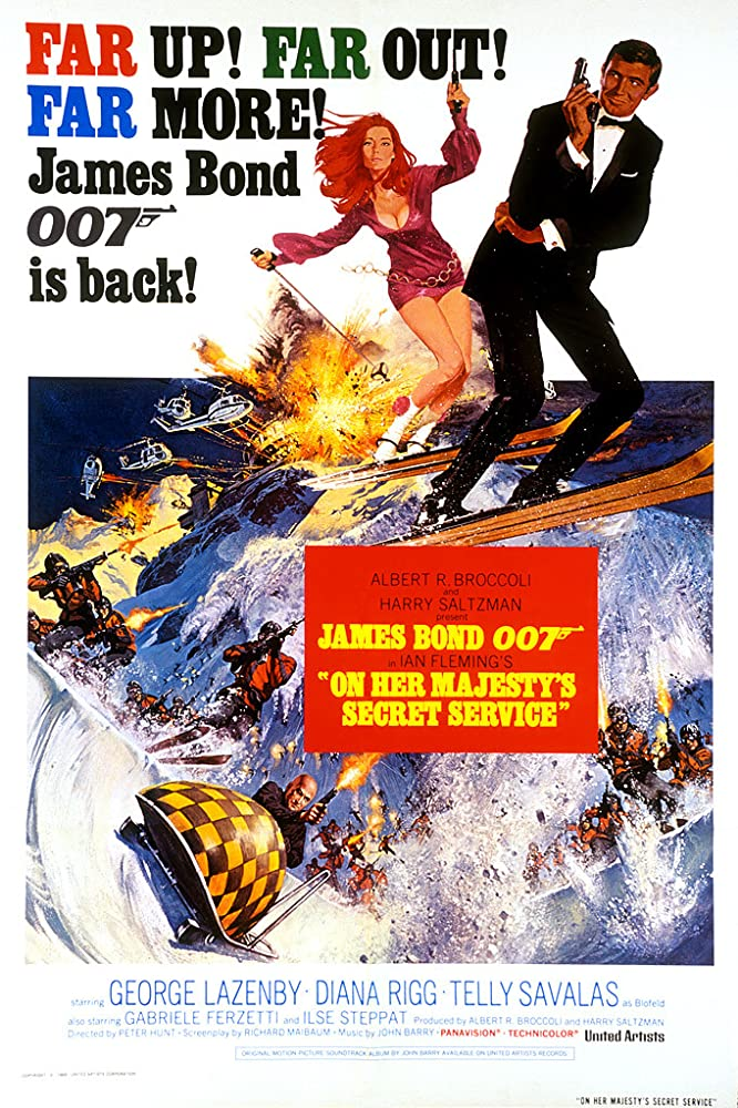 On Her Majesty's Secret Service (1969) Hindi Dubbed
