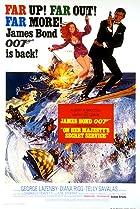 On Her Majesty's Secret Service (1969) Poster