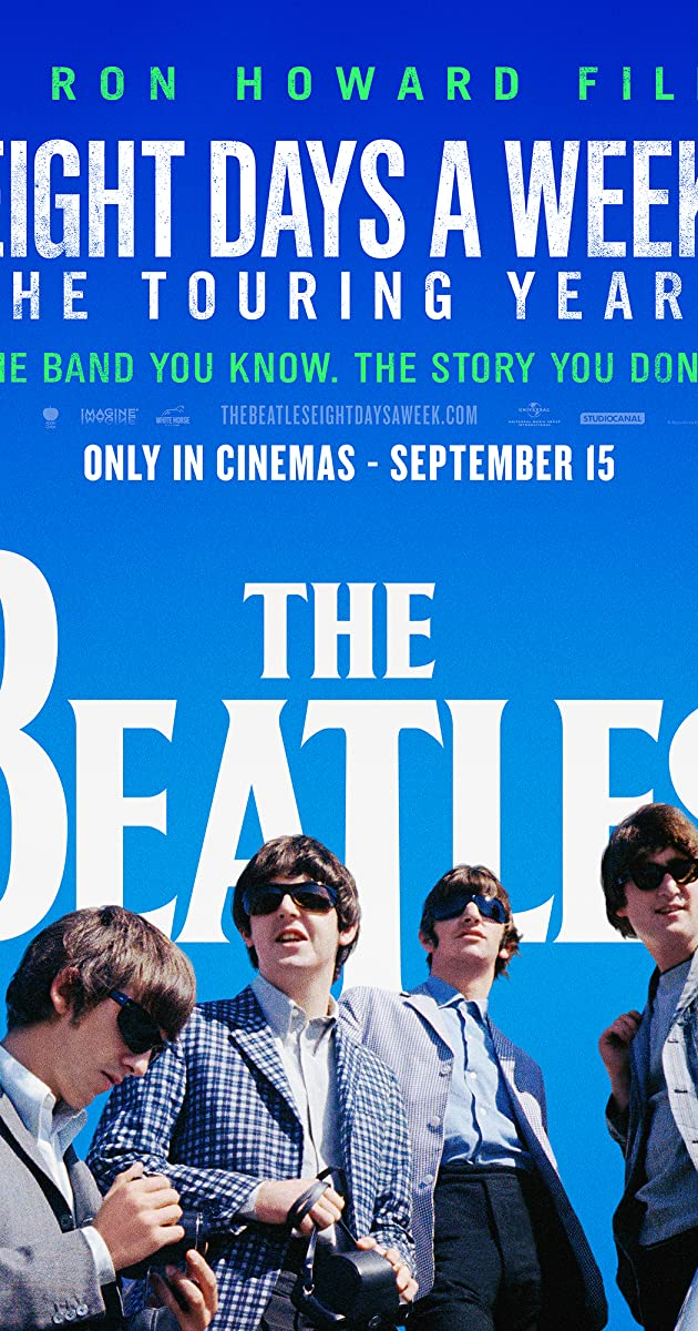 Subtitle of The Beatles: Eight Days a Week - The Touring Years
