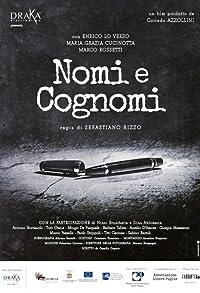 Primary photo for Nomi e cognomi