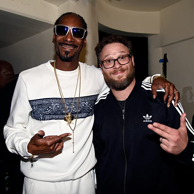Snoop Dogg and Seth Rogen