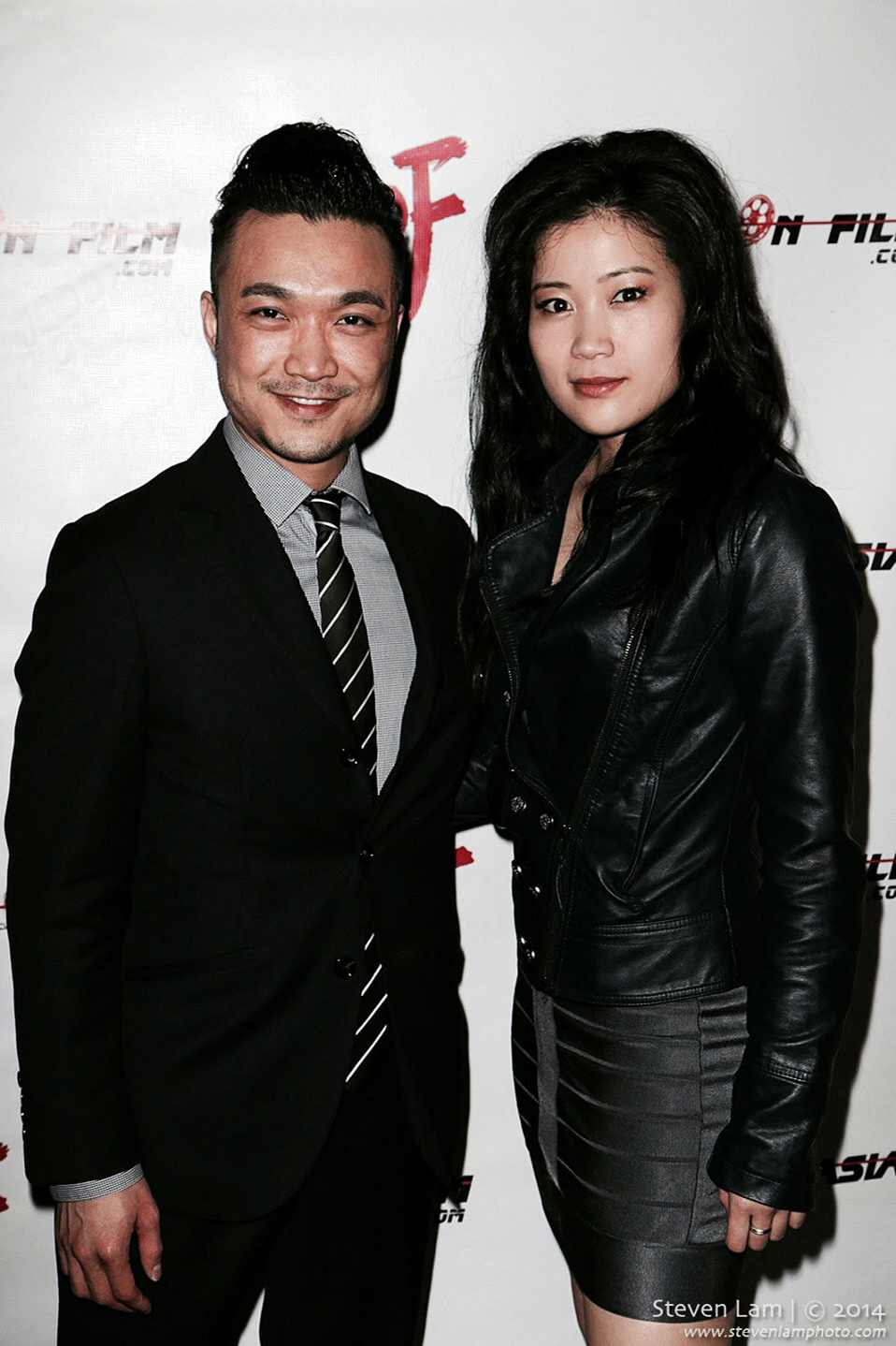 Norman Yeung and Jadyn Wong at HollyShorts/Asians On Film screening, TCL Chinese Theatre, Hollywood, 2014.