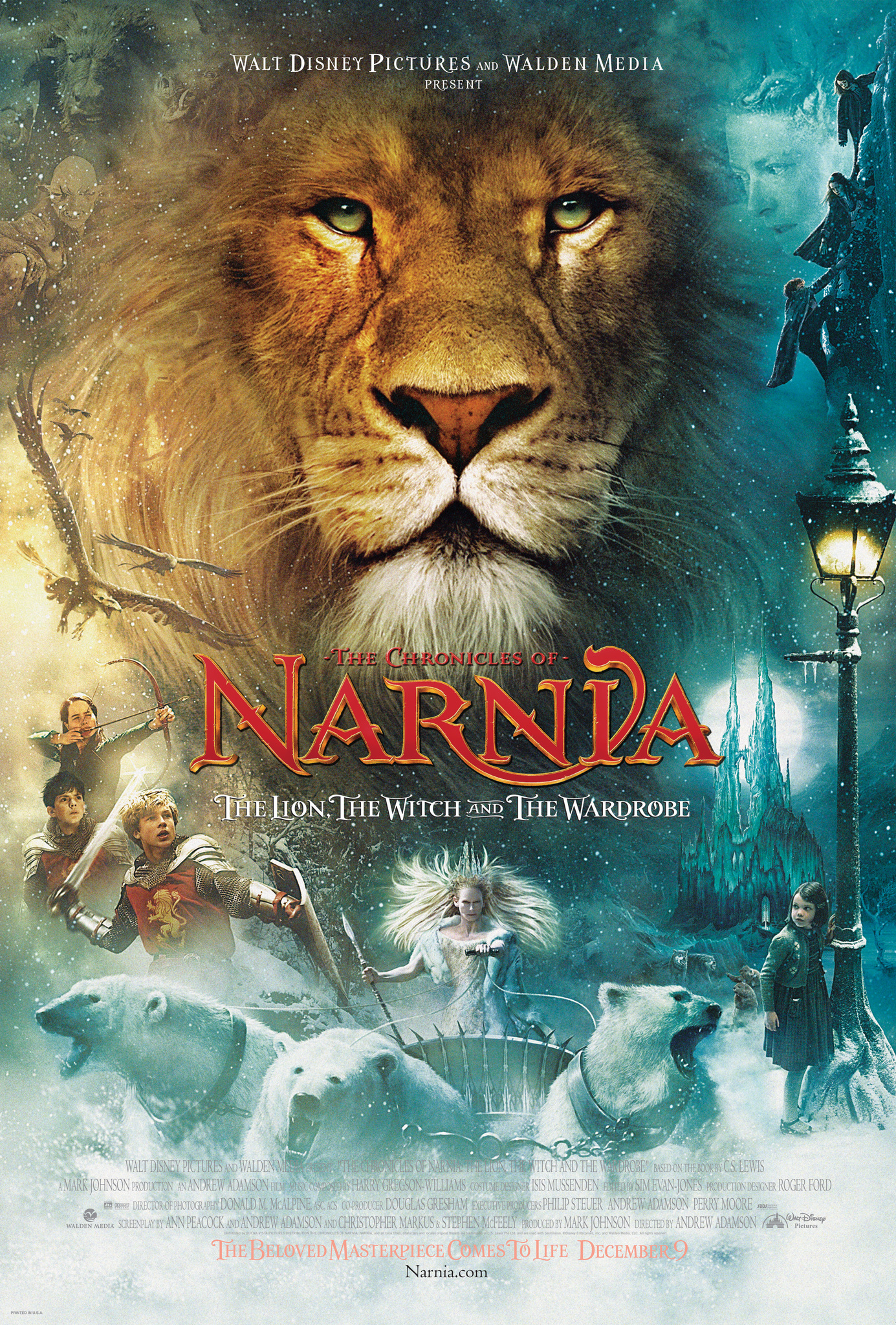 The Chronicles of Narnia: The Lion, the Witch and the Wardrobe (2005) BluRay 480p, 720p & 1080p