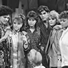 George Clooney, Nancy McKeon, Kim Fields, Mindy Cohn, Lisa Whelchel, and El DeBarge in The Facts of Life (1979)
