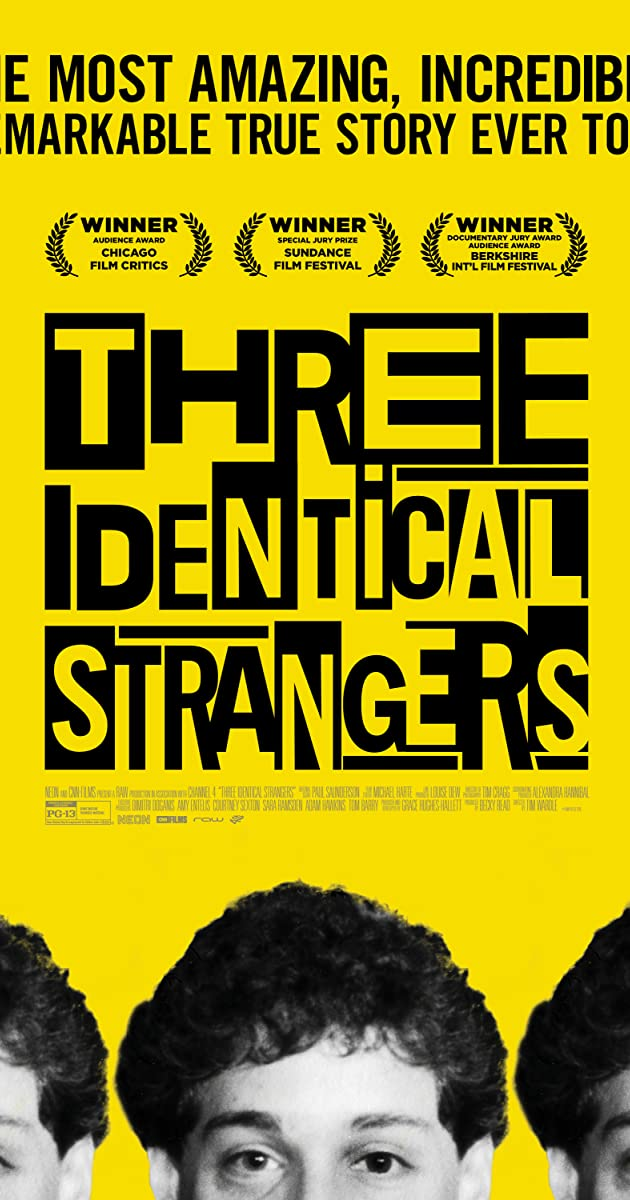 Three Identical Strangers 2018 Imdb