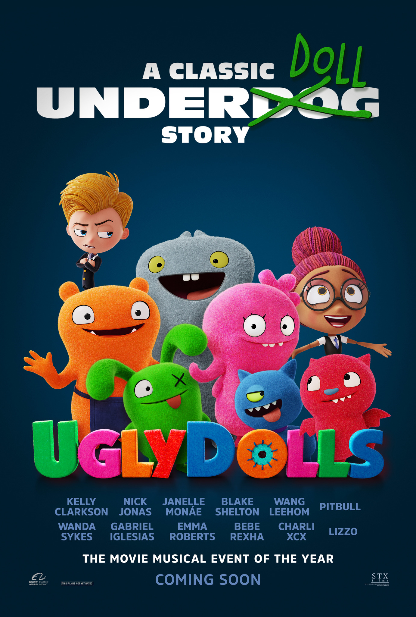 UglyDolls (2019) BluRay 480p, 720p & 1080p