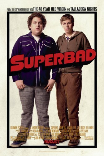 Michael Cera and Jonah Hill in Superbad (2007)