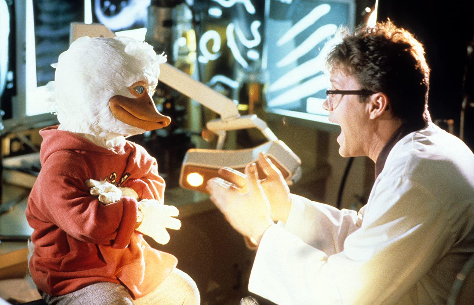 Tim Robbins in Howard the Duck (1986)