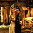 Steve Guttenberg and Daryl Hannah in High Spirits (1988)