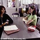 Courtney with detective Vera Cruz