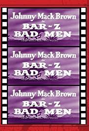 Bar-Z Bad Men Poster