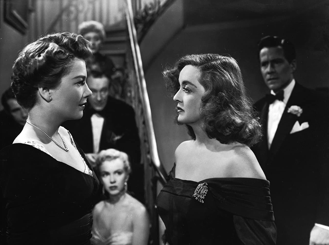 Image result for all about eve 1950 staircase