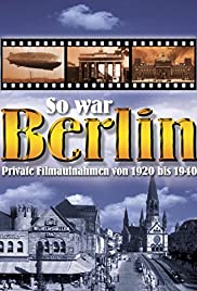 So war Berlin Poster
