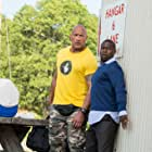 Kevin Hart and Dwayne Johnson in Central Intelligence (2016)