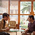 Michael Imperioli and Óscar Jaenada in Cantinflas (2014)