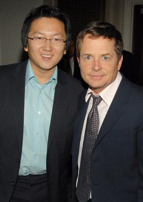 Michael J. Fox and Masi Oka