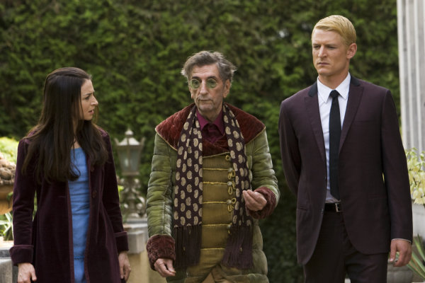 Harry Dean Stanton, Caterina Scorsone, and Philip Winchester in Alice (2009)