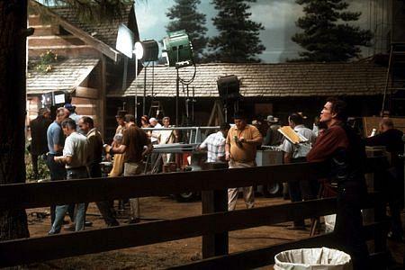 """Bonanza"" David Canary behind the scenes 1967 NBC"