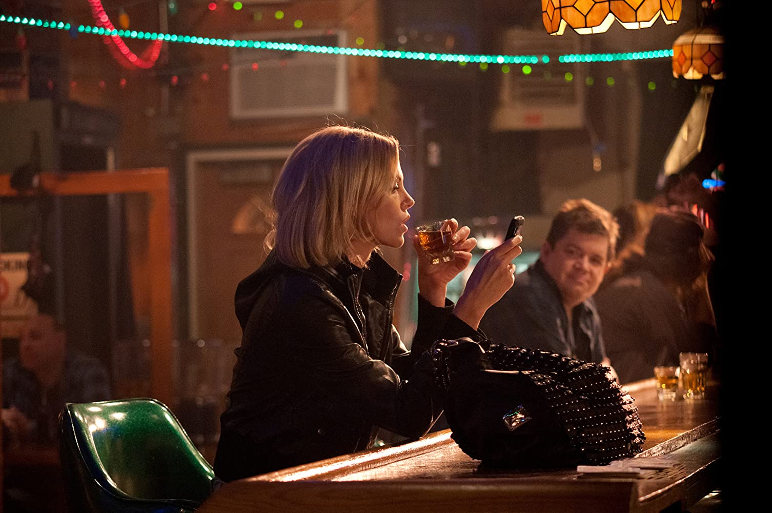 Charlize Theron and Patton Oswalt in Young Adult (2011)