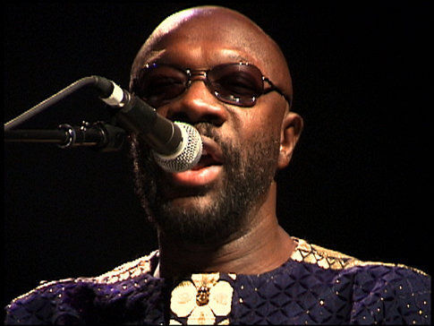 Isaac Hayes in Only the Strong Survive (2002)