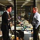 Matt Damon and Martin Sheen in The Departed (2006)