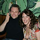 Christian Slater and Joely Fisher at an event for Slingshot (2005)