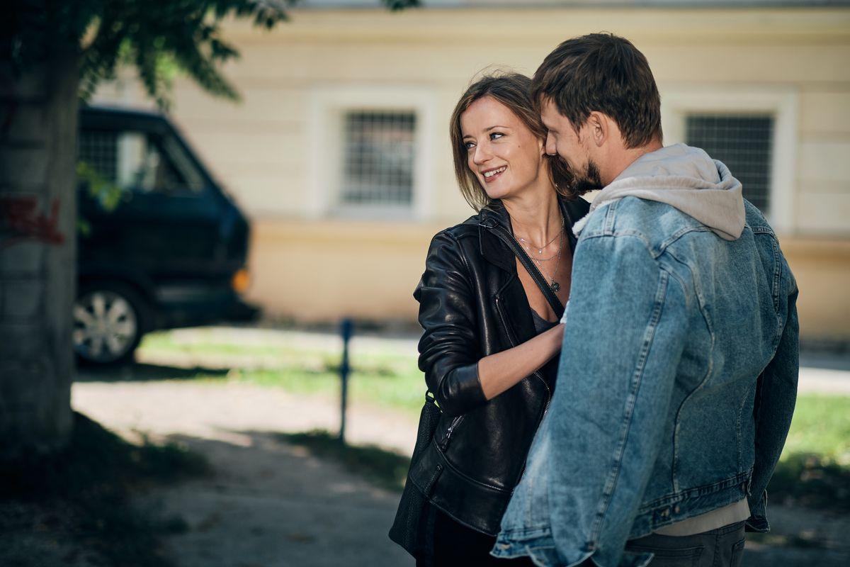 Ajda Smrekar and Jernej Gasperin in V imenu ljudstva (2020)
