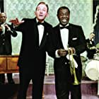Bing Crosby, Louis Armstrong, Barrett Deems, Edmond Hall, and James Young in High Society (1956)