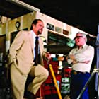 Jack Nicholson and Martin Scorsese in The Departed (2006)