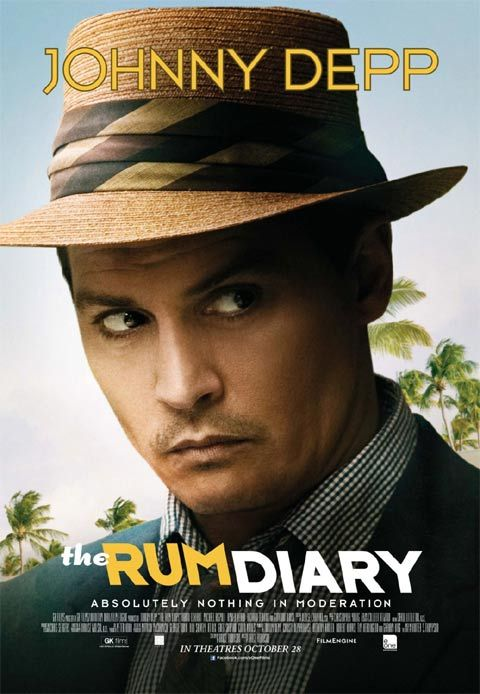 Johnny Depp in The Rum Diary (2011)