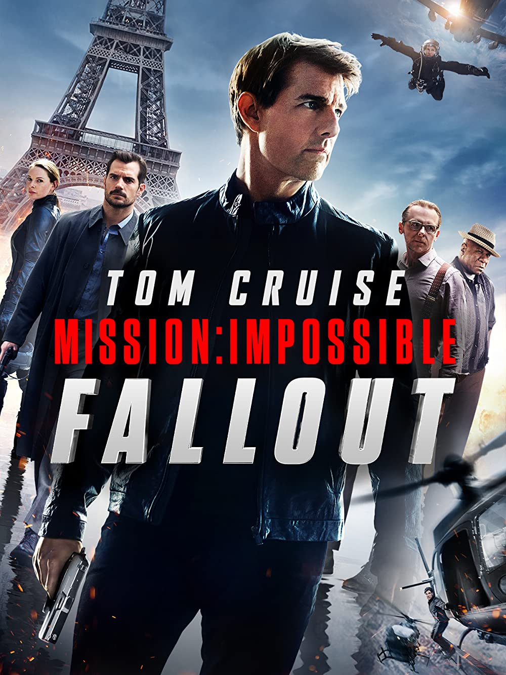 Poster film Mission: Impossible Fallout.