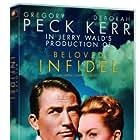 Deborah Kerr and Gregory Peck in Beloved Infidel (1959)