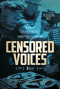 Website to watch english movies Censored Voices Israel [movie]