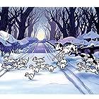 Rod Taylor, Sandra Abbott, Mimi Gibson, Barbara Luddy, Mickey Maga, Rickie Sorensen, and Mary Wickes in One Hundred and One Dalmatians (1961)