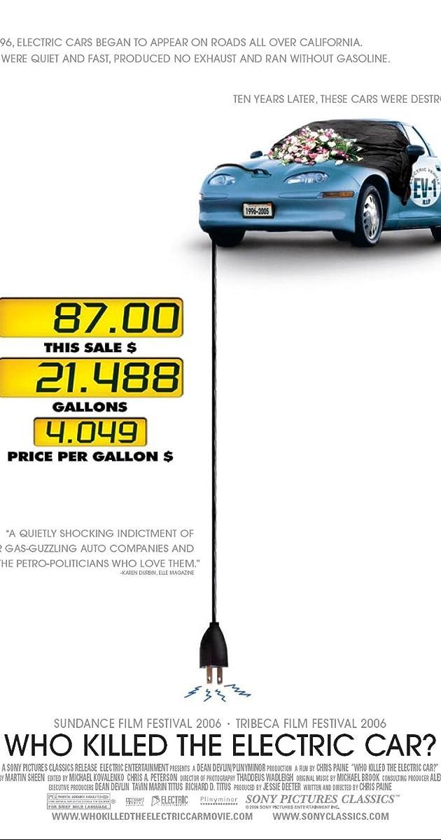 Who Killed the Electric Car? (2006) - IMDb