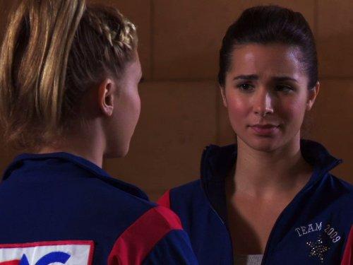 Josie Loren and Cassandra Scerbo in Make It or Break It (2009)