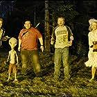 Blythe Danner, Nick Frost, Simon Pegg, Seth Rogen, and Kristen Wiig in Paul (2011)