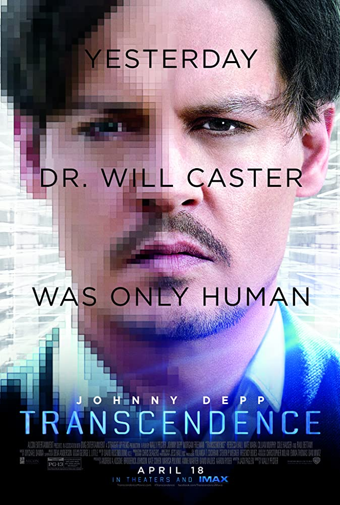 Johnny Depp in Transcendence (2014)