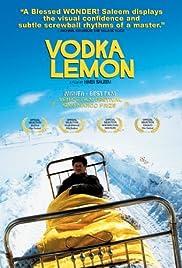 Vodka Lemon Poster
