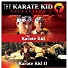 Ralph Macchio, Pat Morita, and Hilary Swank in The Karate Kid (1984)